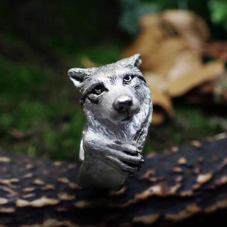 オオカミ前足リング