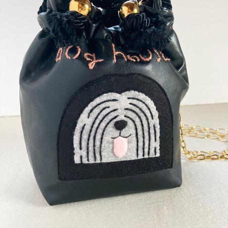 【受注商品】 dog house1 きんちゃくバッグ(2WAY)