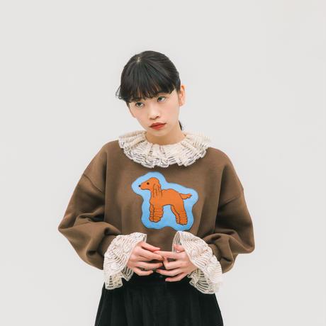 【受注商品】いぬ リメイクスウェット