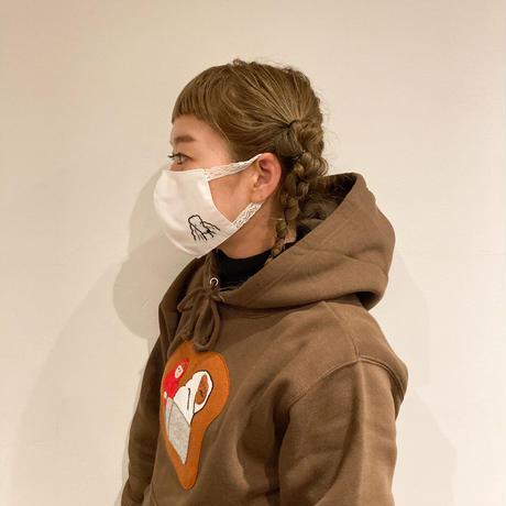 すずらんマスク01(レースゴム)