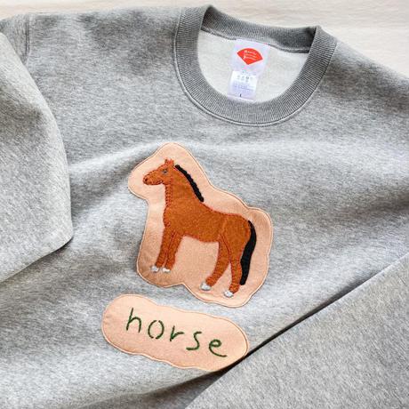 【受注商品】horse スウェット