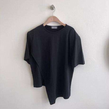 【ts009】アシンメトリーTシャツ(2カラー)
