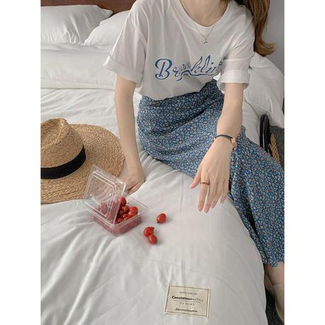 【即納あり】【ts008】BrooklineレトロカレッジTシャツ(2カラー)