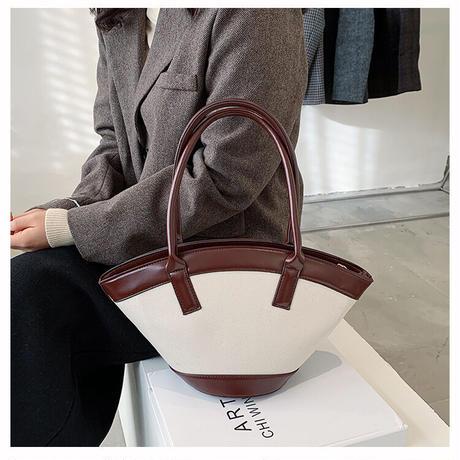 【R3BG02】コンビネーションバケットバッグ(3カラー)