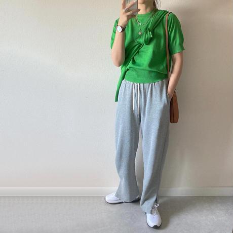 【即納あり】【pt020】ドロストカジュアルストレートパンツ(4カラー)