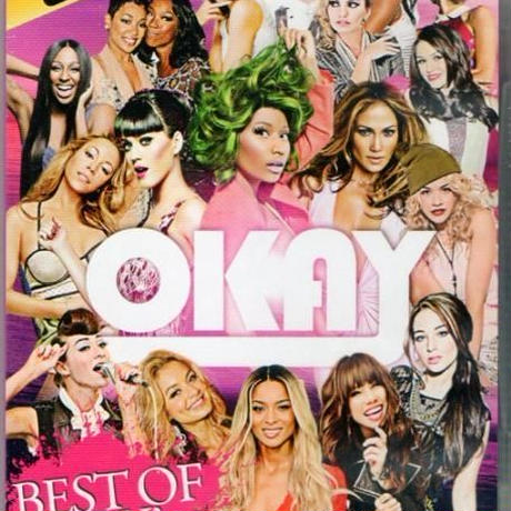 2DVD カーリーレイジェプセン他 OKAY BEST OF LADY'S 2012