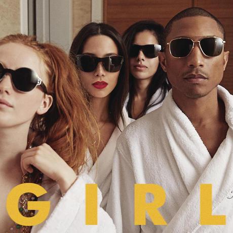 新品レコードPharrell Williams ファレル・ウィリアムス G I R L(GIRL輸入盤アナログLP)ガール