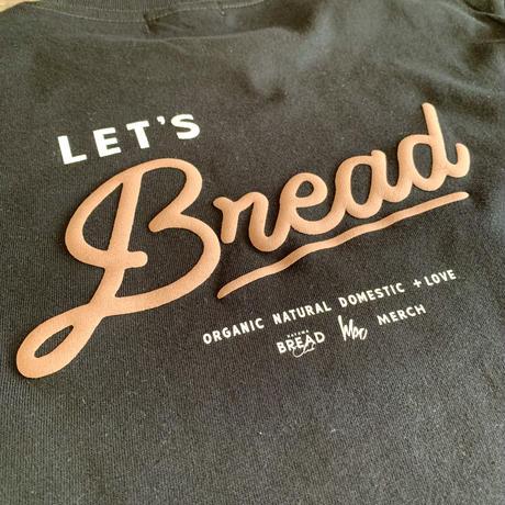 <1st Anniversary CHARITY T-SHIRT> 【LET'S BREAD  HBC ✖︎ MERCH・半袖】(受注生産受付:12月19日〜12月25日 PM12:00)