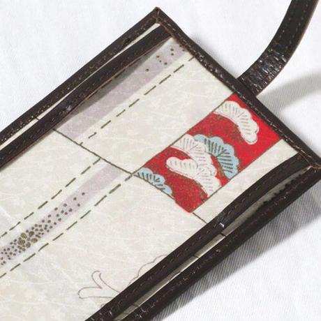 抗菌レザーマスクケース ブラウン【送料無料】