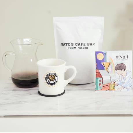 """【定期便】SATO's CAFE BAR ORIGINAL BLEND COFFEE """"No.1"""" ドリップバッグセット【送料無料】"""