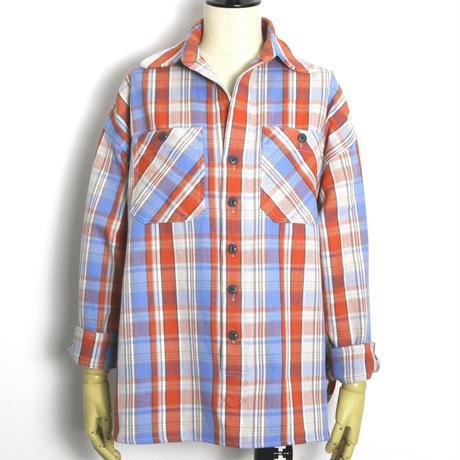 BLUEBIRD BOULEVARD   Vintage Check Pullover Shirt/ブルーバード ブルバード チェックスキッパーシャツ