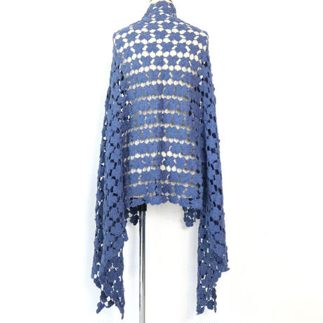 BLUEBIRD BOULEVARD    Cotton&Cashmere Crochet Stole /ブルーバード ブルバード コットンカシミヤかぎ針編みストール