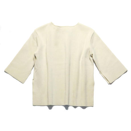 BLUEBIRD BOULEVARD  Knitted Pullover/ブルーバード ブルバード ミラノリブトップ