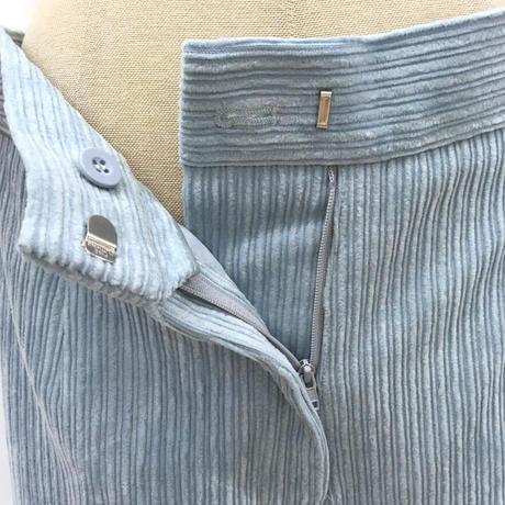 BLUEBIRD BOULEVARD Corduroy Straight Pants /ブルーバード ブルバード ランダムコーデュロイパンツ