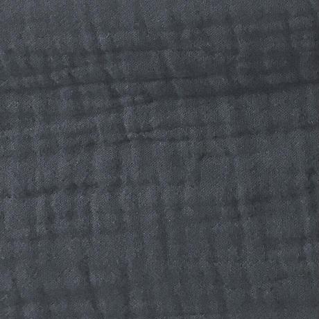 BLUEBIRD BOULEVARD Soft Gauze Shirt Dress /ブルーバード ブルバード  ソフトシュリンクガーゼシャツドレス CHARCOAL・NAVY