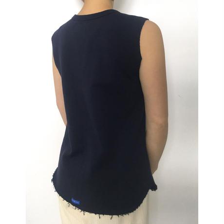 BLUEBIRD BOULEVARD Heavy Weight Jersey Sleeveless Top /ブルーバード ブルバード ヘヴィウェイトウラケ ノースリーブトップ