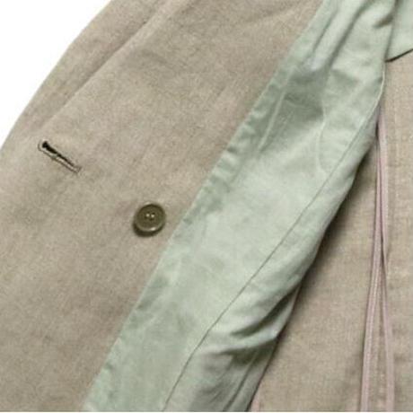 BLUEBIRD BOULEVARD   Linen Tailored Jacket/ブルーバード ブルバード  ウォッシュドリネンテーラードジャケット