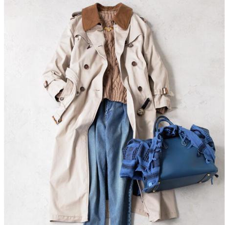 BLUEBIRD BOULEVARD Maxi Trench Coat/ブルーバード ブルバード  マキシ丈トレンチコートA