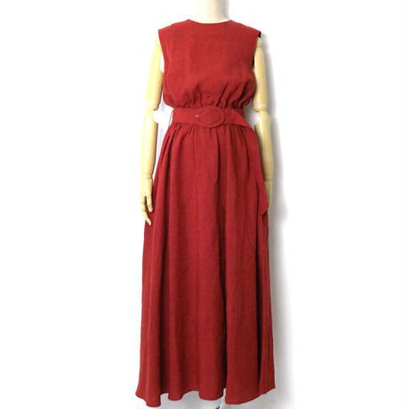 BLUEBIRD BOULEVARD  Linen Stripe Maxi  Dress/ブルーバード ブルバード  ボーダーリネン マキシドレス