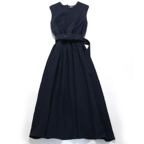 BLUEBIRD BOULEVARD Soft Gauze Maxi Dress /ブルーバード ブルバード ソフトシュリンクガーゼマキシドレス