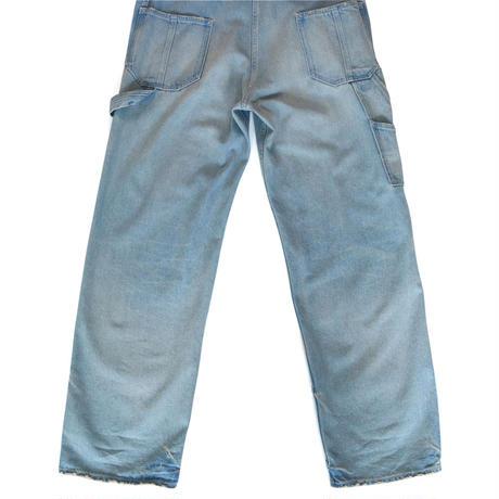 BLUEBIRD BOULEVARD Straight Leg Overall in Light Blue Wash /ブルーバード ブルバード オーバーオールストレート