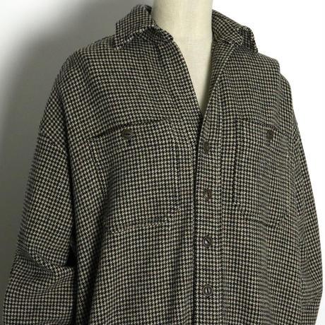 BLUEBIRD BOULEVARD   Wool and cashmere-blend Shirt Dress /ブルーバード ブルバード カシミヤミックスウールシャツドレス