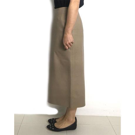 BLUEBIRD BOULEVARD Lamb Skin  Leather Skirt/ブルーバード ブルバード ソフトラムレザー タイトスカート