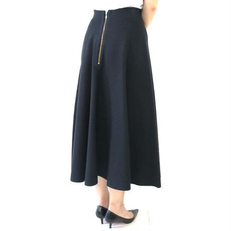 BLUEBIRD BOULEVARD Knit  A-Line Skirt/ブルーバード ブルバード ミラノリブサーキュラースカート