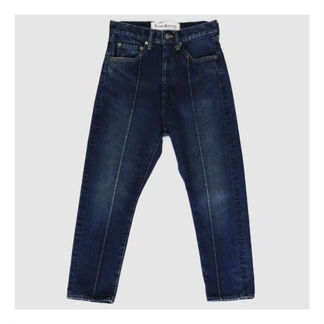 BLUEBIRD BOULEVARD High Rise Straight Leg Jean/ブルーバード ブルバード ハイウエスト ジーンズ