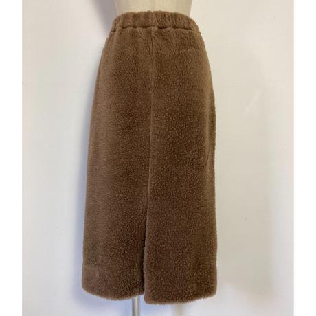 BLUEBIRD BOULEVARD   Wool Fleece Skirt /ブルーバード ブルバード オージーウールボア タイトスカート