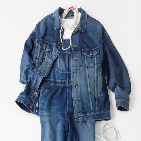 BLUEBIRD BOULEVARD   Super Oversized Denim  Jacket /ブルーバード ブルバード ビッグサイズGジャン