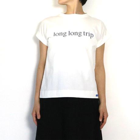 BLUEBIRD BOULEVARD Roll up Sleeve Tee shirt /ブルーバード ブルバード ロールアップスリーブTシャツ(ソリッド・ロゴ)