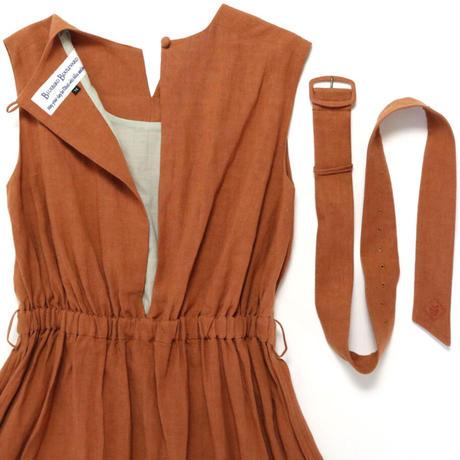 BLUEBIRD BOULEVARD Linen  Maxi  Dress/ブルーバード ブルバード  ヴィンテージリネンマキシドレス