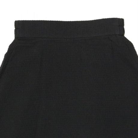 BLUEBIRD BOULEVARD Cotton Seersucker Maxi Skirt/ ブルーバード ブルバード シアサッカーマキシスカート