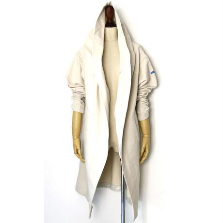 BLUEBIRD BOULEVARD Cotton Jersey Hooded Dressing Gown  /ブルーバード ブルバード ドライタッチウラケガウンコート