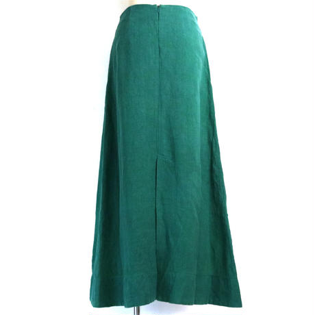BLUEBIRD BOULEVARD Washed Linen Maxi Skirt /ブルーバード ブルバード リネンマキシスカート