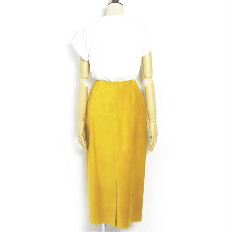 BLUEBIRD BOULEVARD  Suede Leather Skirt/ブルーバード ブルバード  ピッグスウェードタイトスカート