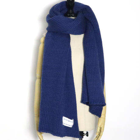 BLUEBIRD BOULEVARD Chunky Knit Big Scarf/ ブルーバード ブルバード ローゲージソフトウールビッグストール