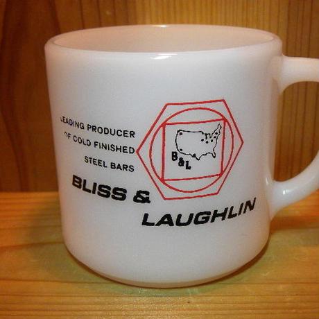 ミルクガラス FEDERAL BLISS&LAUGHLIN