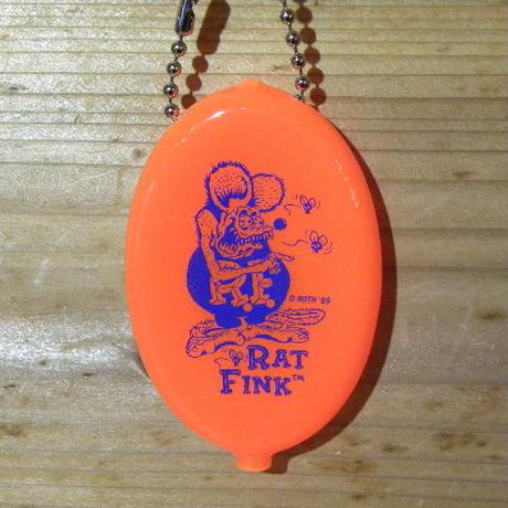 ラットフィンク コインパース ネオンオレンジ RAF455NO