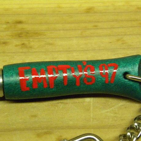 エンプティーズオリジナル オピネル ナイフ型キーホルダー グリーン