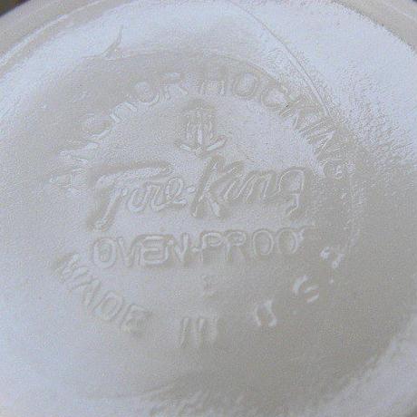 Fire King casserole White ファイヤーキング キャセロール ホワイト