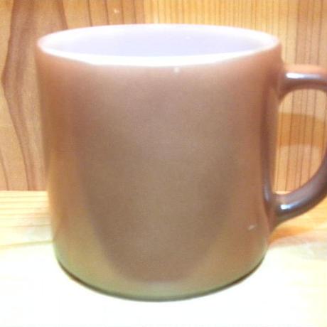 ミルクガラス FEDERAL Stacking Mug Brown
