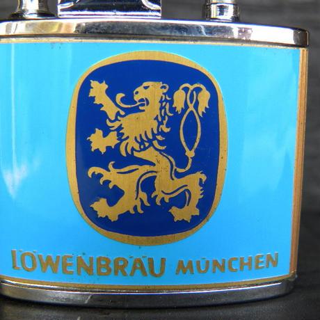 国産ヴィンテージオイルライター LOWENBRAU MUNCHEN