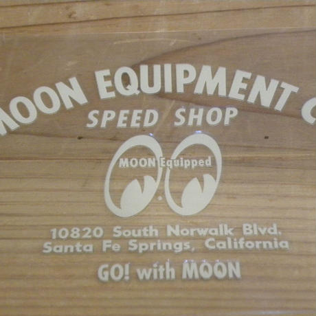 MOON EQUIPMENT SPEED SHOP デカール MQD021IV