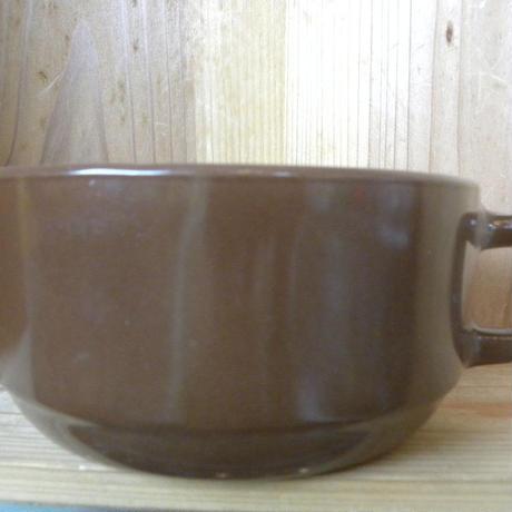 ファイヤーキング スタッキング スープカップ ブラウン