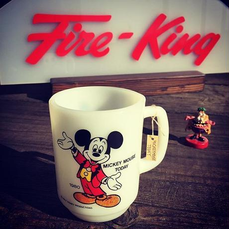 Fire King MICKEY MOUSE TODAY