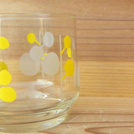 昭和 レトロポップ 冷茶グラス 佐々木硝子 刻印入り 2個セット