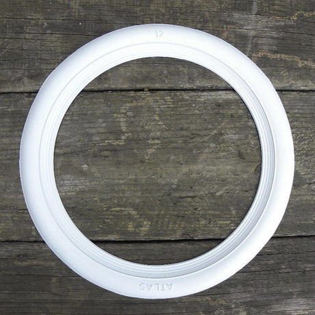 ホワイト リボン 13インチ 4枚セット WW213