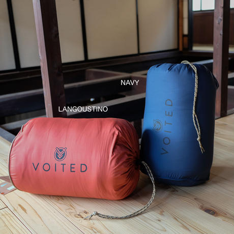 CLOUDTOUCH OUTDOOR PILLOW BLANKET (無地) / VOITED